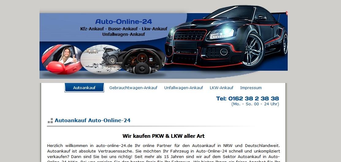 Autoankauf - auto-online-24.de