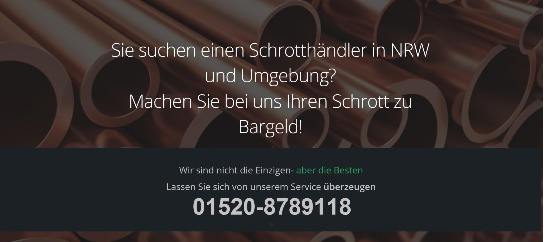 Schrottabholung Krefeld | Ihr Partner für Schrottabholung in Krefeld